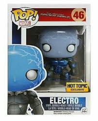 Funko Pop Spider-man Electro Brilha no escuro Marvel