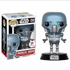 Funko Pop Star Wars  Medical Droid W Exclusive