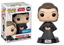 Funko Pop Star Wars Princesa Leia  # 218 Exclusivo Walmart