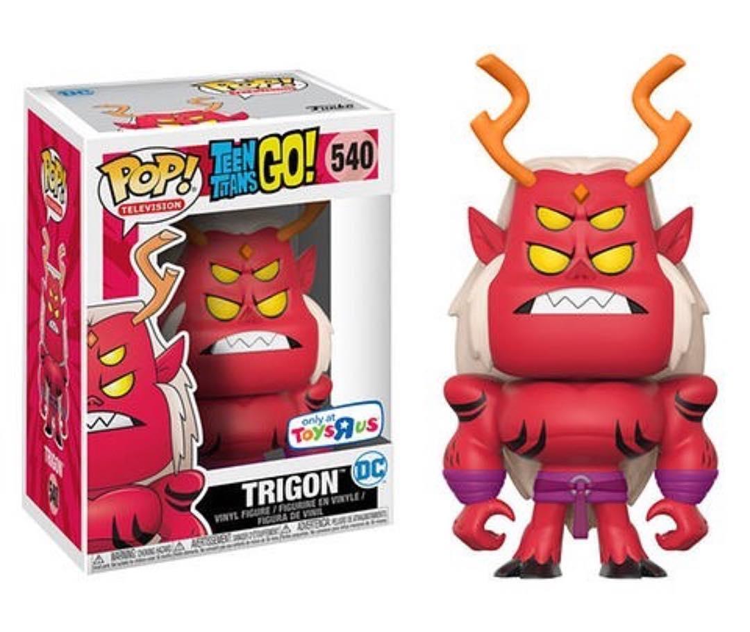 Funko Pop Teen Titans Go Trigon Only At Toysrus