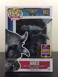 Funko Pop Wonder Woman Ares SDCC 2017