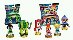 Kit Lego Dimensions Super Poderosas  71346 + 71343
