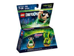 Lego Dimensions  71343 Powerpuff Girls Superpoderosas 56 Pçs  - Game Land Brinquedos