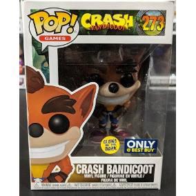 Pop Funko Crash Bandicoot Glow Exclusivo Best Buy