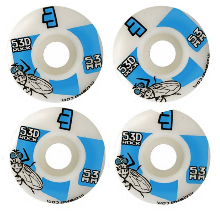 Roda Moska Skate 53 mm - Branca