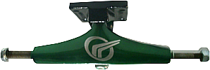 Truck de Skate Street Parts 129 mm - Verde