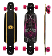 Skate Pró Long Bord - TRAXART - DM 405