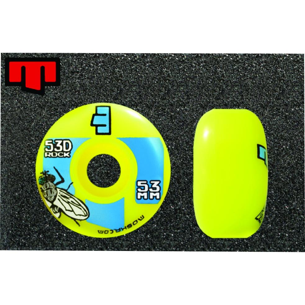 Roda Moska Skate 53 mm - Amarela