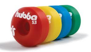 Roda HUBBA -  53 mm - COLORS