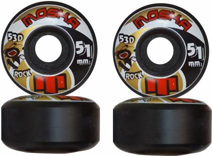 Roda Moska Skate 51 mm - Preta