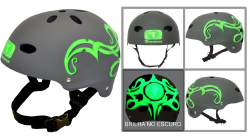 Capacete Adulto - T- GREEN