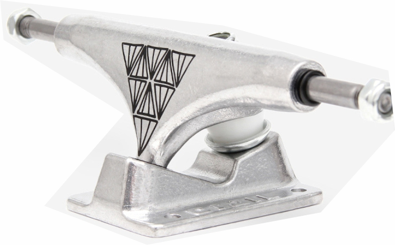 Truck Crail Skate Silver MID 129 mm Sinergia