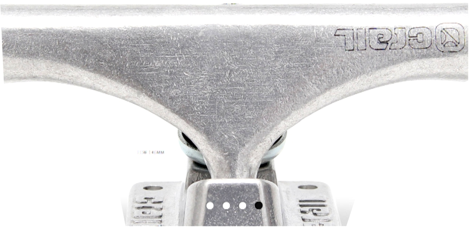 Truck Crail Silver LOW 127mm Classic Logo