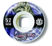 Roda ELEMENT - 57 mm - Wolf Spirit