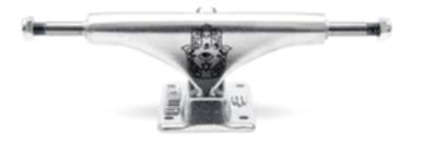Truck Metallum Silver -  Hiena - 129 mm