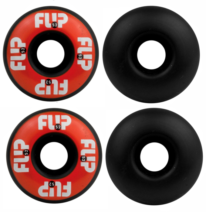 Roda Skate Flip 52 mm 99 A - Black