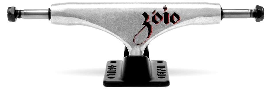 Truck Crail Skate HI 139 mm Zóio Prata/Preto