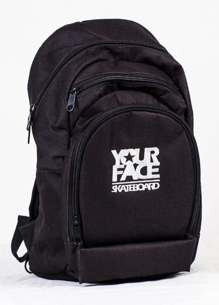 Mochila Skate Bag Your Face Preta