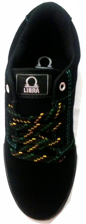 Tênis Libra Elite Jamaica Preto/Amarelo
