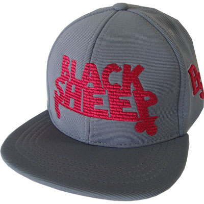 Boné Black Sheep snapback cinza