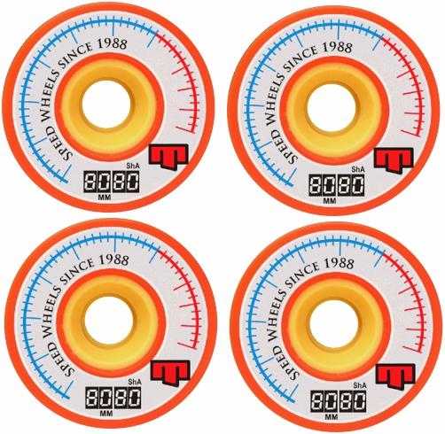Roda Moska Long 80mm 80 A Hi-Per Speed