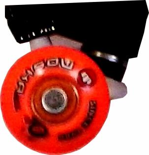 Skate Montado Completo Profissional Abec 11 - Moska/Woodligth/Oficina