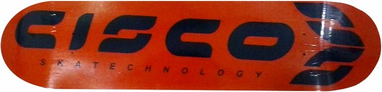 Shape Cisco FN+R Logo Oficinal Laranja e Cinza