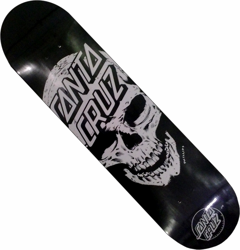 Shape Santa Cruz Dead Pool Preto