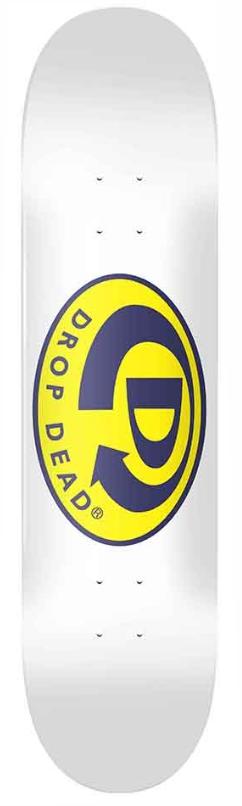 Shape Drop Dead Logo Branco