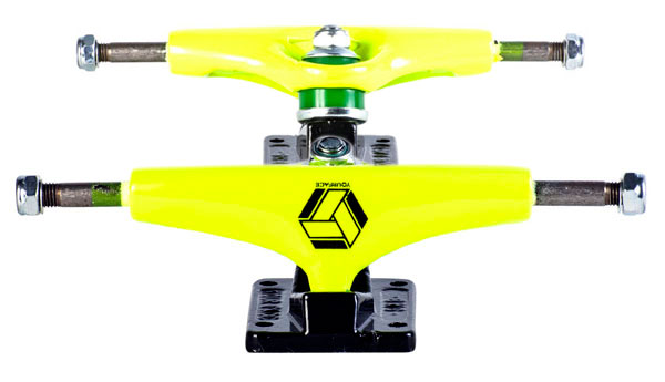 Truck de Skate Your Face Amarelo Neon