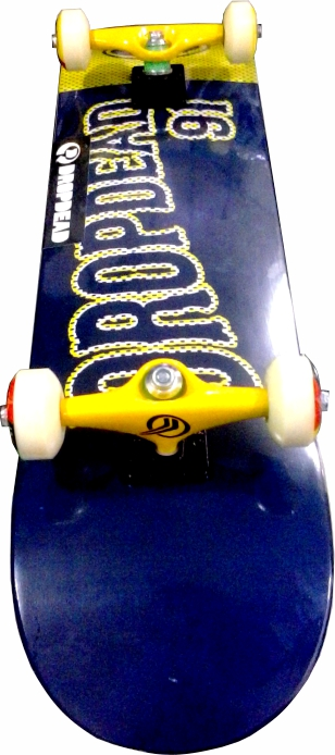 Skate Montado Completo Profissional Drop Dead Time