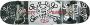 Skate Montado Profissional - FLIP P2/METALUN/MOSKA - ABEC 15 - Oficina do Skate