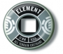 Roda ELEMENT - 51 mm - Prata - Oficina do Skate
