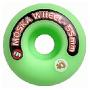 Roda Moska 55 mm - Verde - Oficina do Skate