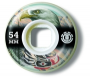 Roda ELEMENT - 54 mm - �guia - Oficina do Skate