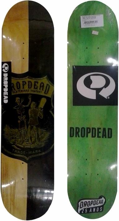 Shape Drop Dead Sk8 is Life Wood
