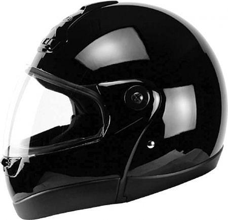 Capacete Zeus 508 Escamoteável Preto  - Nova Centro Boutique Roupas para Motociclistas