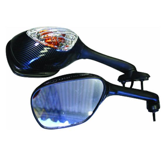 Espelho GSX R750/1000  06/07 c/ pisca (o Par)  - Nova Centro Boutique Roupas para Motociclistas