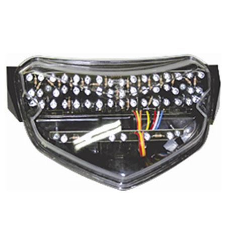 Lanterna Tras. em Led c/ pisca integ. Srad 750 03-05  - Nova Centro Boutique Roupas para Motociclistas