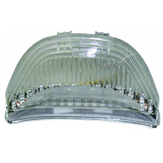 Lanterna Traseira Emgo em Led c/ pisca integ. CBR 600RR/1000RR 03-06  - Nova Centro Boutique Roupas para Motociclistas