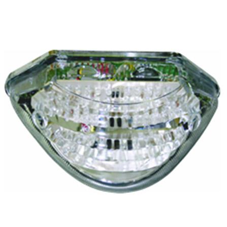 Lanterna Traseira em Led c/ pisca integ. Hornet 02-07  - Nova Centro Boutique Roupas para Motociclistas