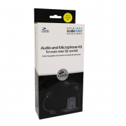 Base Audio e Microphone Kit Cardo p/ Q1 e Q3