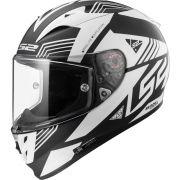 Capacete LS2 FF323 Arrow R Neon - Matte Black/White