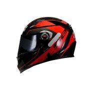 Capacete LS2 FF358 Stinger Preto/Vermelho