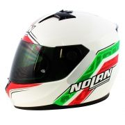 Capacete Nolan N64 Italy Metal White - SUPEROFERTA!
