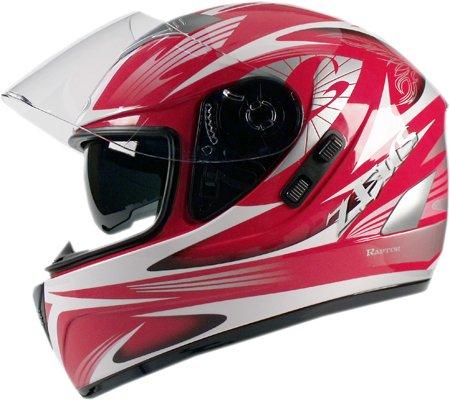 Capacete Zeus 810 2 Raptor Vermelho  - Nova Centro Boutique Roupas para Motociclistas
