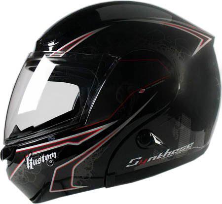 Capacete Zeus 3000A Huston Preto/Prata  - Nova Centro Boutique Roupas para Motociclistas