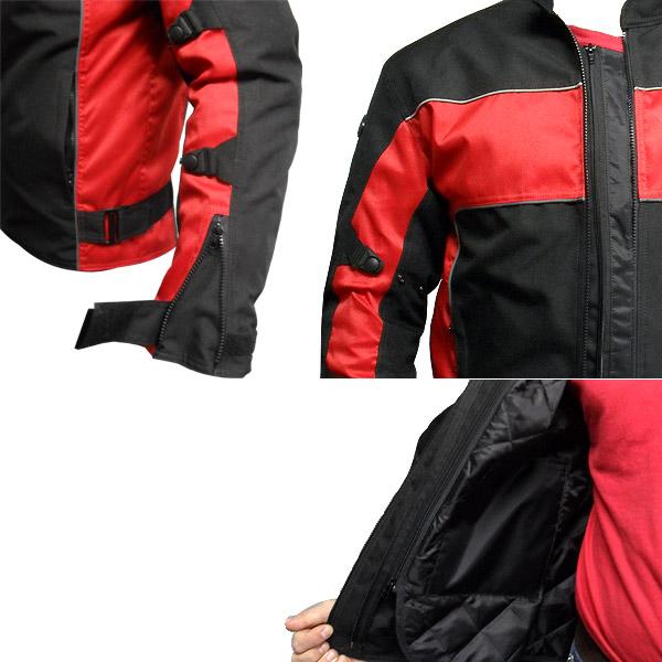 Jaqueta Joc Man Vermelha - Impermeável  - Nova Centro Boutique Roupas para Motociclistas