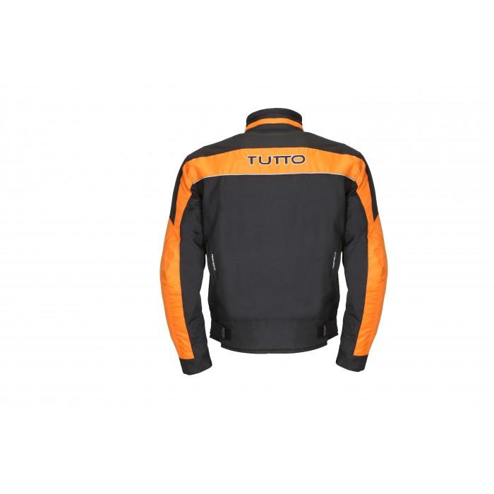 Jaqueta Tutto Fyber Laranja 100% Impermeável  - Nova Centro Boutique Roupas para Motociclistas