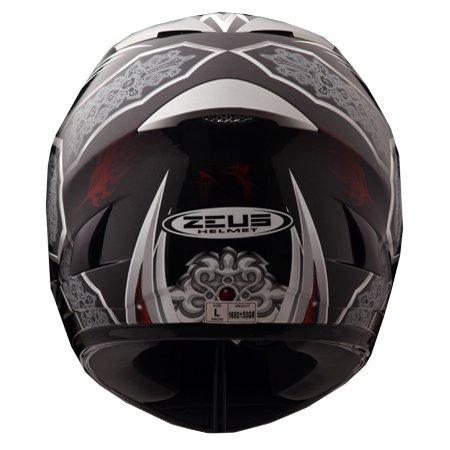 Capacete Zeus 806A II14 MYSTIC BLACK  - Nova Centro Boutique Roupas para Motociclistas